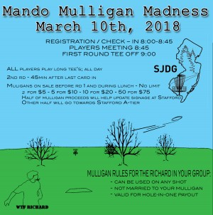 Mando Muligan Madness graphic