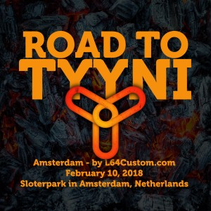 Road to Tyyni - Amsterdam - by L64Custom.com graphic