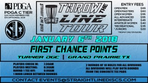 First Chance Points - Throw the Line Tour Event graphic