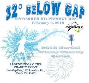 32 beLow Gap Sponsored By Prodigy Disc graphic