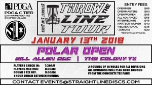 Polar Open - Throw the Line Tour Event graphic