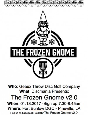 Discmania Presents: The Frozen Gnome v2.0 graphic