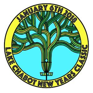 Lake Chabot New Years Classic 2018 graphic