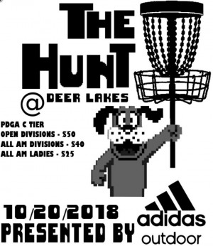 The Hunt at Deer Lakes Presented by Adidas Outdoor graphic