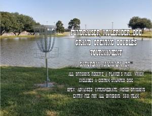 Fundraiser/Mulerider DGC Grand Opening Doubles Tournament graphic