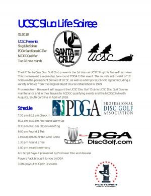 UCSC Slug Life Soiree graphic