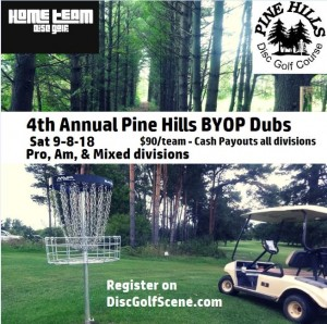 4th annual Pine Hills BYOP Dubs graphic