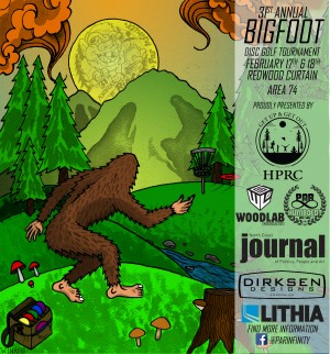 Par Infinity's 31st Annual Bigfoot Tournament graphic