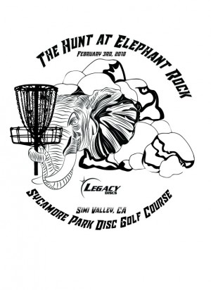 The Hunt at Elephant Rock 2018 presented by Legacy Discs graphic