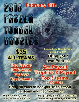 2018 Frozen Tundra Doubles graphic