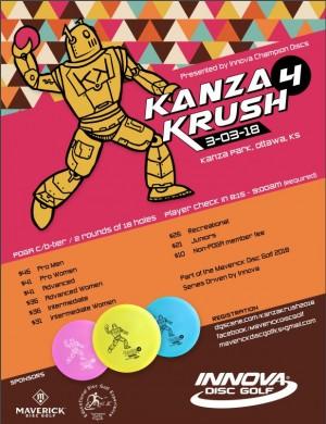 Maverick DG: Kanza Krush 4 presented by INNOVA graphic