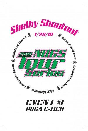 Shelby Park Shootout- Nashville Disc Golf Store Tour Series graphic