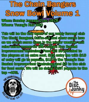 The Chain Bangers Snow Bowl Volume 1 graphic