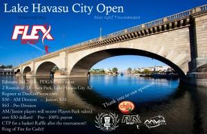 Lake Havasu City Open graphic