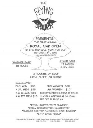 Royal Oak Open graphic