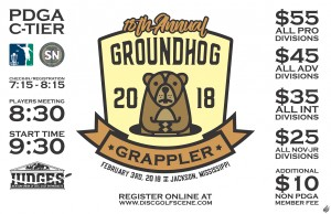 18th Annual Groundhog Grappler graphic