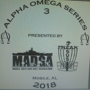 Alpha Omega Event 1 Presnted by FullTurn Disc graphic