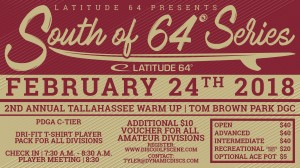 2nd Annual Tallahassee Warm Up presented by Latitude 64 graphic