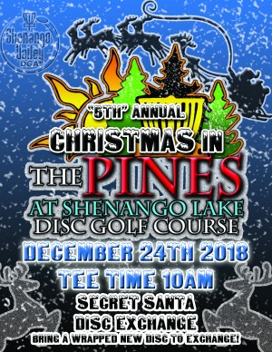 """""""5th"""" Annual Christmas in the Pines graphic"""