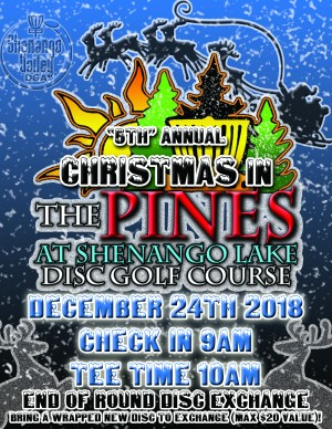 """5th"" Annual Christmas in the Pines graphic"