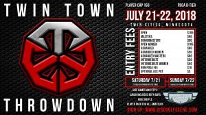 Twin Town Throwdown graphic