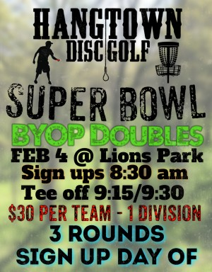 17th Annual Super Bowl BYOP Doubles graphic