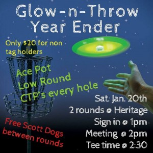Glow-N-Throw Year Ender graphic
