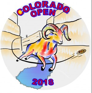 Colorado Open 2018 Sponsored by Westside Discs graphic