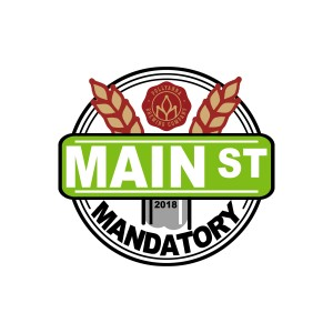 Pollyanna Brewing Company Presents the 2018 Main Street Mandatory Sponsored by Dynamic Discs graphic