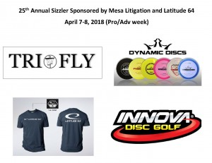 25th Annual Sizzler Sponsored By Mesa Litigation & Latitude 64 (Pro Weekend) graphic