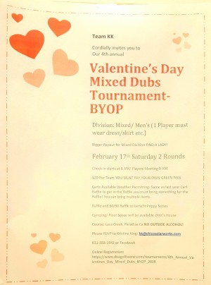 4th Annual Valentine's Day Mixed Dubs-BYOP graphic