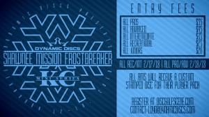 Dynamic Discs Presents: 2018 Shawnee Mission Frostbreaker (REC/INT) graphic