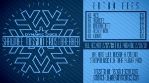 Dynamic Discs Presents: 2018 Shawnee Mission Frostbreaker (PRO/ADV) graphic