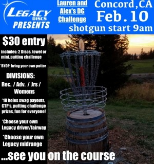 Hill Crest Opening Challenge presented by Legacy Discs & LaurenAlexDG graphic