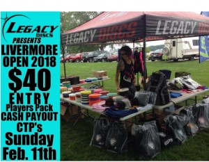 Livermore Open 2nd annual Presented by Legacy Discs and LaurenAlexDG graphic
