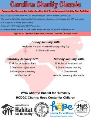 Carolina Charity Classic graphic