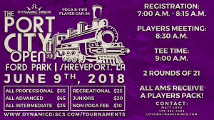Dynamic Discs Presents: The 5th Annual Port City Open graphic