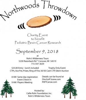 Northwoods Throwdown graphic
