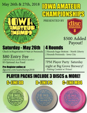 5th Annual Iowa Amateur Championships graphic