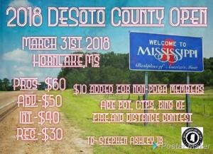 Desoto County Open 2018 graphic