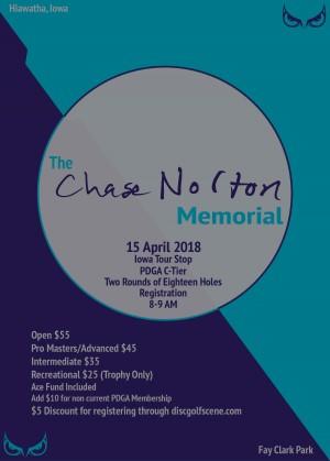 Chase Norton Memorial graphic