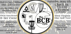The BCB Open presented by Innova graphic