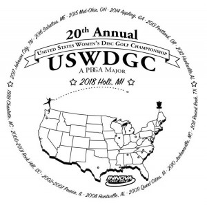 2018 PDGA United States Women's Disc Golf Championships graphic