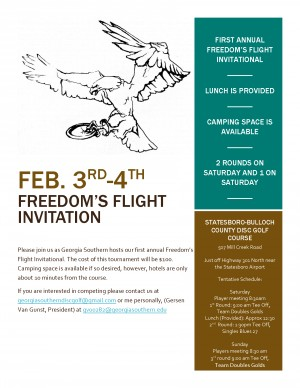Freedom's Flight Invitational graphic