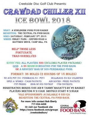 Crawdad Chiller XII - Ice Bowl 2018 graphic