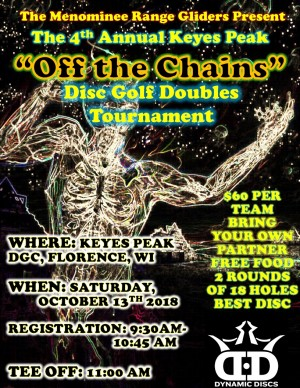 "The 4th Annual Keyes Peak ""Off the Chains"" Doubles Tournament graphic"