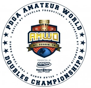 PDGA Amateur World Doubles Championships Presented by Innova & HouckDesign graphic
