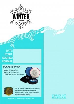 MVP discs Winter series graphic