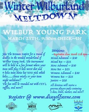 Winter Wilburland Meltdown graphic
