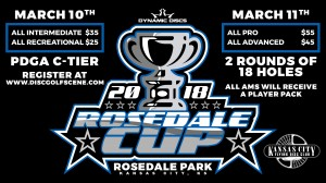 Dynamic Discs Presents: 2018 Rosedale Cup (Pro/Adv) graphic